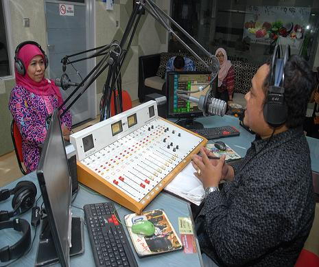 Talk Show ON AIR dengan Menteri Sosial di Pandu Langsung oleh News Manager
